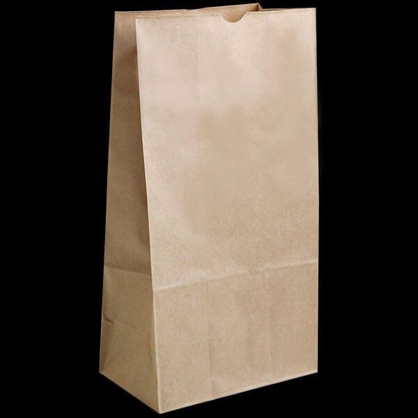 画像1: 角底紙袋(大) 幅210x高さ400+マチ130mm (1)