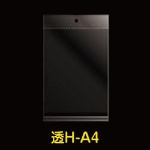 画像1: #30 OPP袋 透明ヘッダー付A4用 225x310+30+40 (1)