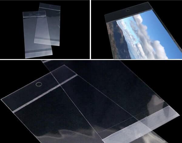 透明ヘッダー付ポストカード