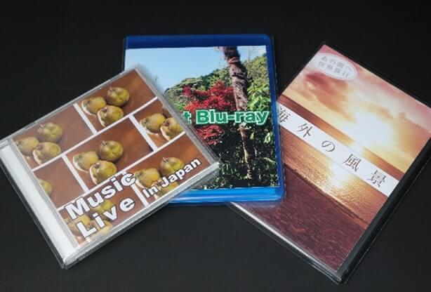 DVD用、BD用ジャケットカバーもございます。