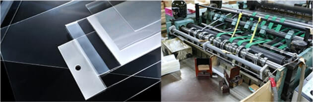 透明封筒専門工場